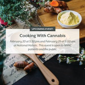 Cooking with Cannabis @ National Holistic Healing Center | Washington | District of Columbia | United States