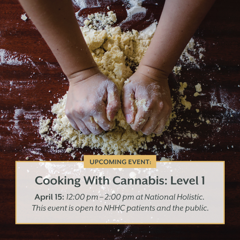 Cooking With Cannabis: Level 1