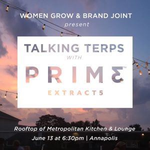 Women Grow Maryland: Talking Terps with Prime Extracts @ Metropolitan Kitchen & Lounge   Annapolis   Maryland   United States