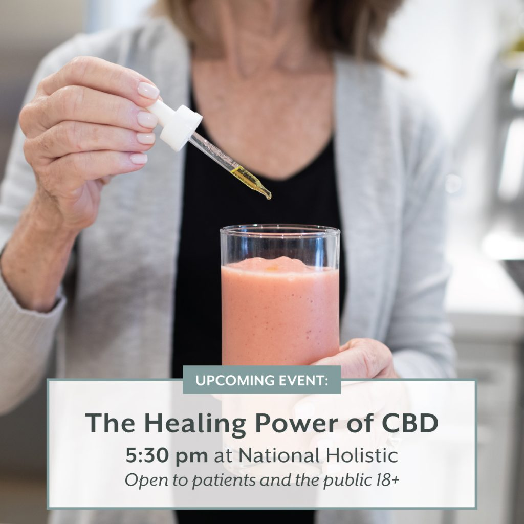 The Healing Power of CBD @ National Holistic Healing Center